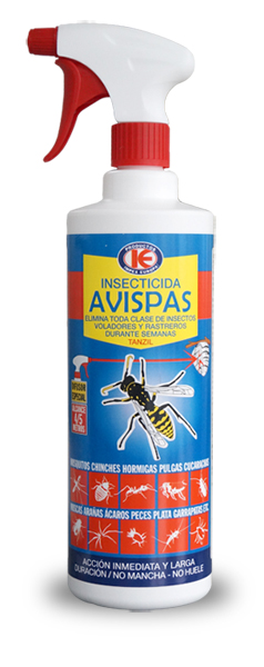 Insecticida Avispas