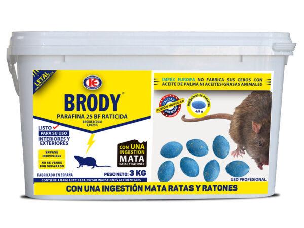 Cubo Brody miniovulos 3 Kg