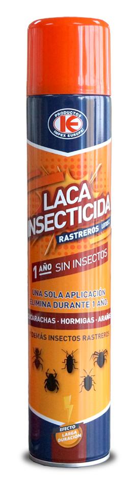 Laca insecticida. Elimina cucarachas, hormigas, arañas.